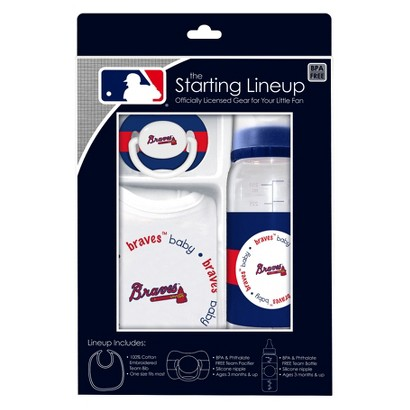 Atlanta Braves Team Color Gift Set