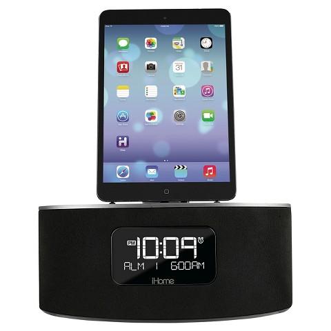 iHome Dual Charging Stereo FM Clock Radio - Black (iDL45)