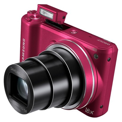 SAMSUNG WB250F 14MP Digital Camera with 18x Optical Zoom