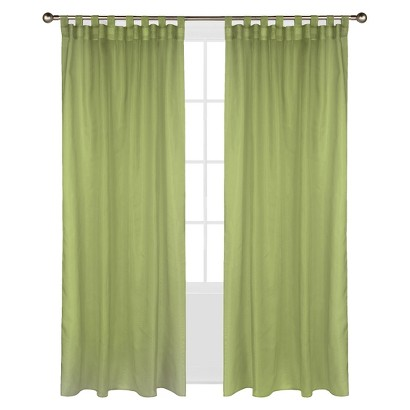 Outdoor Decor™ Escape Hook & Loop Indoor/Outdoor Curtain Panel