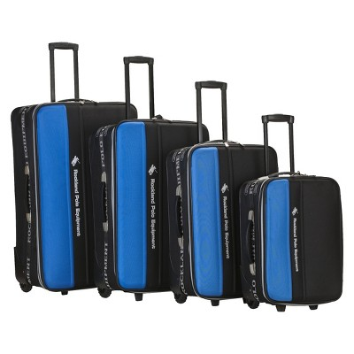 Rockland Polo Explorer 4pc. Luggage Set - Navy