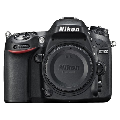 Nikon D7100 24.1MP Digital SLR Camera Body - Black