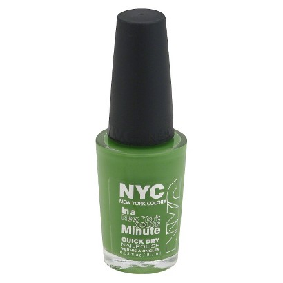 NYC Nail Color - High Line Green