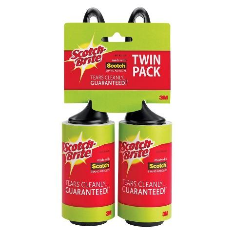 Scotch-Brite Twin Pack Mini Lint Roller