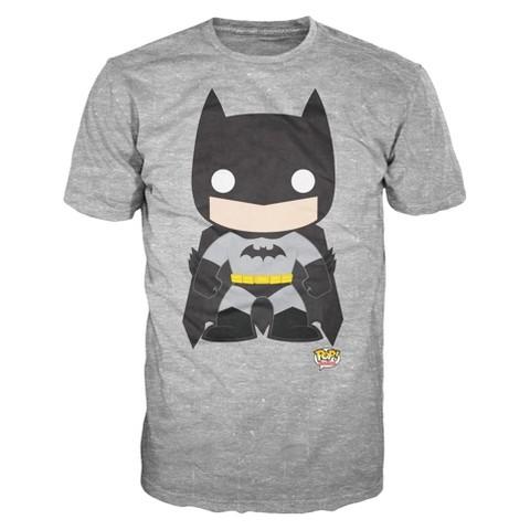 Men's Batman T-Shirt - Gray