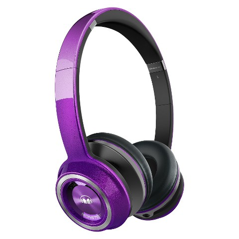 Sound Machine by Monster On-Ear Headphones - Purple