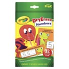 Crayola Dry Erase Flash Card Numbers/ABC Assorted