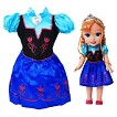 Disney Frozen Anna Toddler Doll & Dress Combo