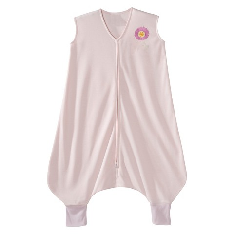 HALO SleepSack Lightweight Knit Early Walker - Pink Flower - Large