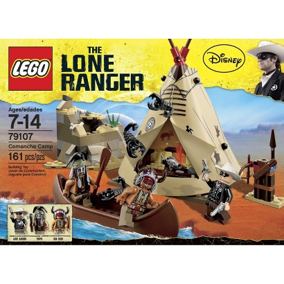 LEGO® The Lone Ranger Comanche Camp 79107