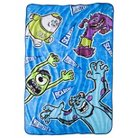 "Disney® Monsters University Blanket - Blue (62"" x 90"")"