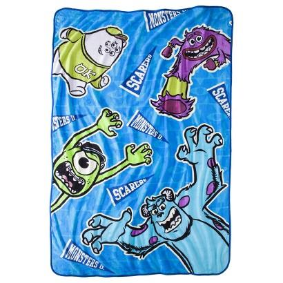 "Disney® Monsters University Blanket - Blue (62"" x 90"")"