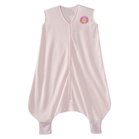 HALO SleepSack Lightweight Knit Early Walker - Pink Flower - Extra Large