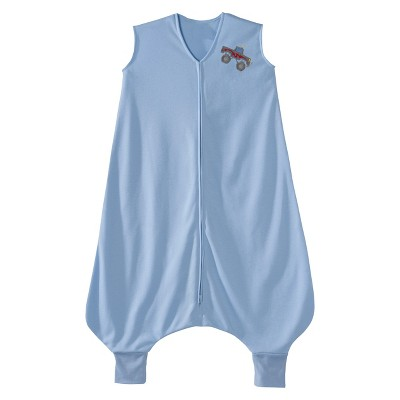 HALO SleepSack Lightweight Knit Big Kids - Blue Truck - 2T/3T