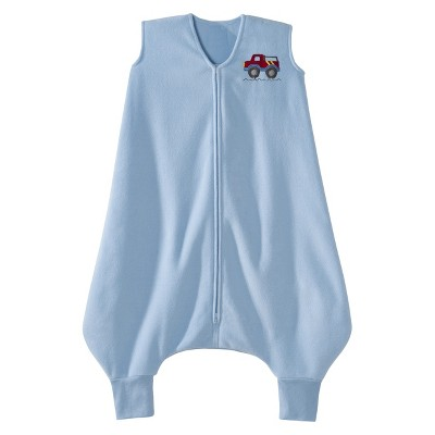 HALO Toddler SleepSack Micro-Fleece 4T/5T - Blue Truck