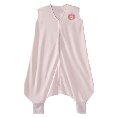 HALO SleepSack Lightweight Knit Early Walker - Pink Flower - Medium