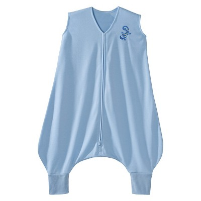 HALO SleepSack Lightweight Knit Early Walker - Blue Gecko - Extra Large