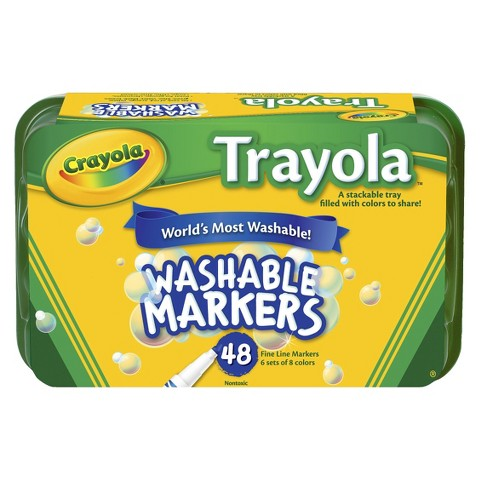 Crayola  8 Colors Trayola Collections - 48 Count