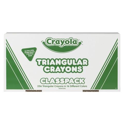 Crayola Triangular Crayons Classpack - 256 Count
