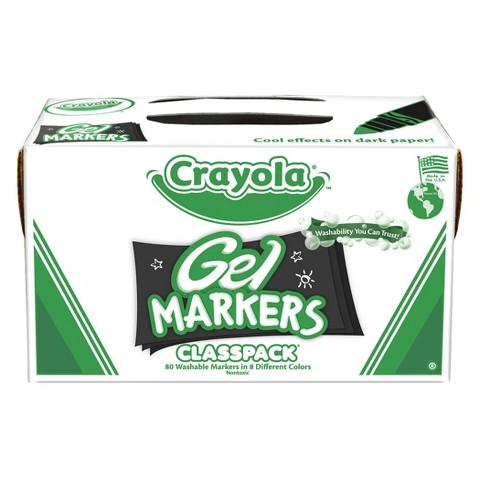 Crayola Gel Markers Classpack - 80 Count