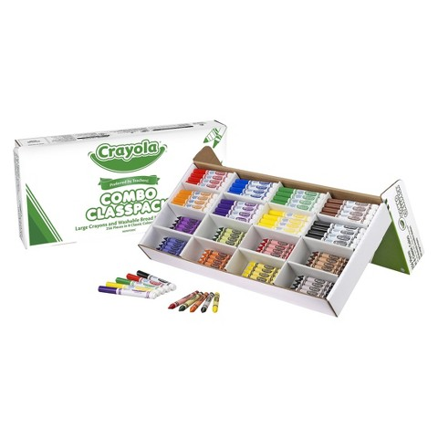 Crayola Crayon and Marker Classpack - 256 Count