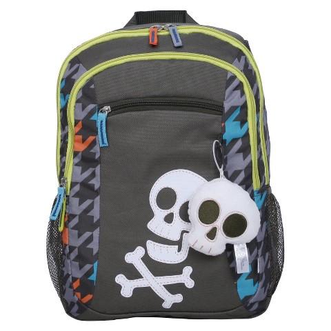 Circo Pet Pals Skulls Backpack - Grey
