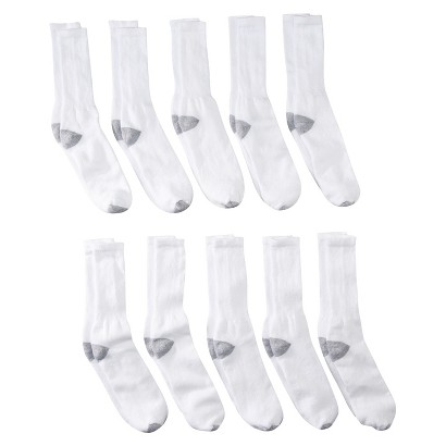 Jerzees® Men's 10pack Crew Socks - Assorted Colors