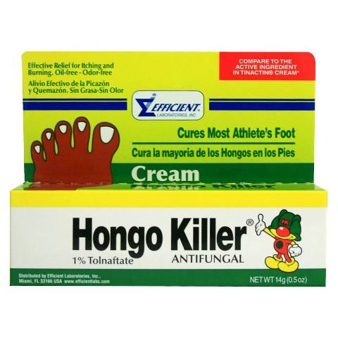 Hongo Killer® Antifungal Foot Cream - 0.5 oz
