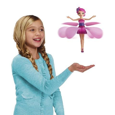 Flutterbye Flying Flower Fairy - Pink