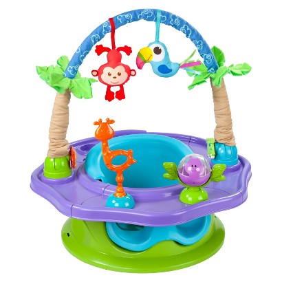 Summer Infant Island Giggles Deluxe 3-in-1 Activity and Booster SuperSeat