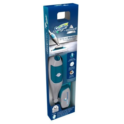 Swiffer Bissell SteamBoost Steam Mop Starter Kit