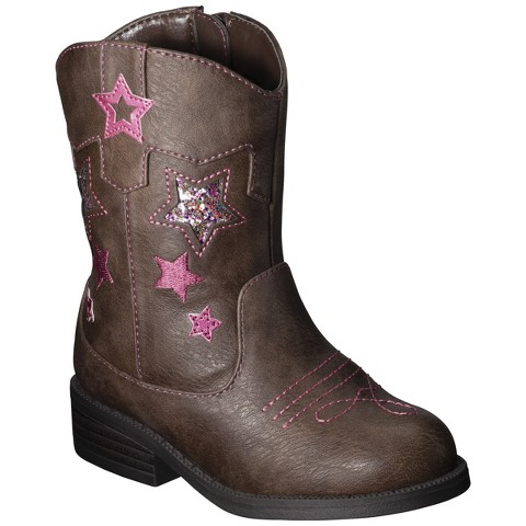 Toddler Girl's Cherokee® Deloria Cowboy Boot - Assorted Colors