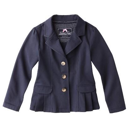 French Toast® Girls' School Uniform Pleated Fashion Blazer