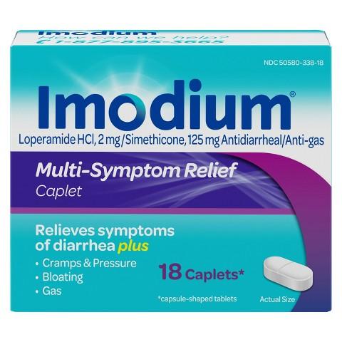 Imodium Multi-Symptom Relief 18-ct.