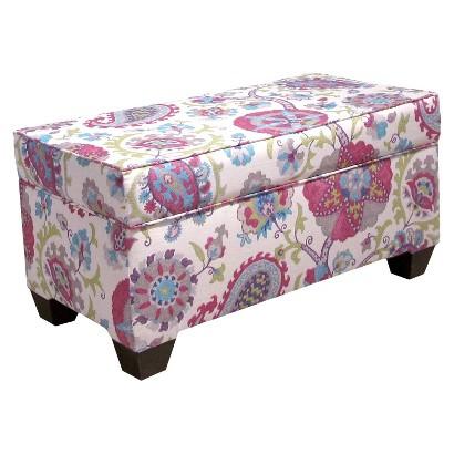 Skyline Furniture Ladbroke Storage Bench - Muliticolored