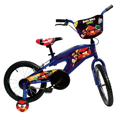 "Street Flyers Angry Birds Space Boys Bike - Multicolor (16"")"