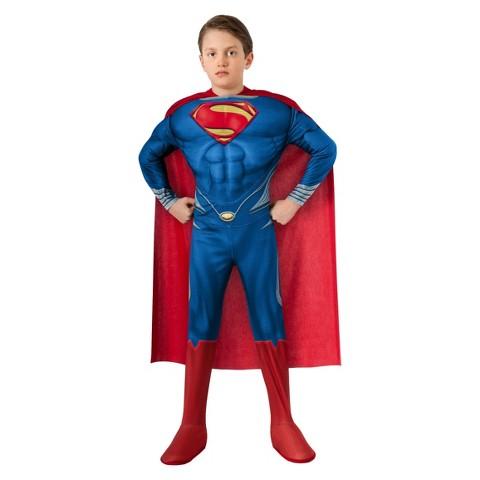 Boy's Superman Man of Steel Muscle Costume