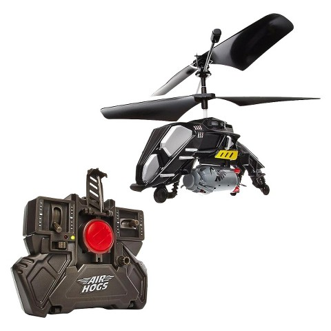 Air Hogs® Megabomb Dropping RC Helicopter - Black