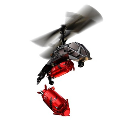 Air Hogs® Megabomb Dropping RC Helicopter - Silver