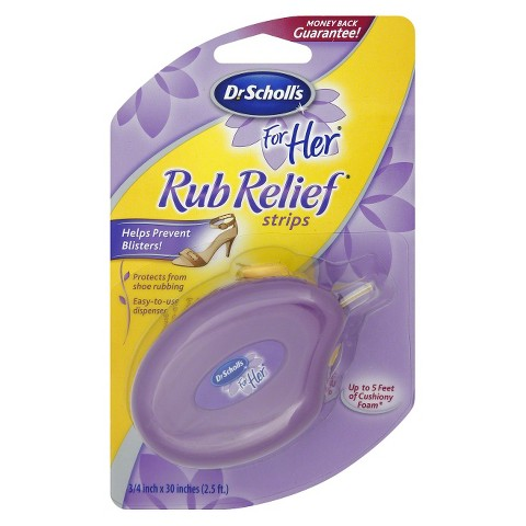 Dr. Scholl's Rub Relief Strips for Her - 3/4 inch x 30 inches (2.5 ft)