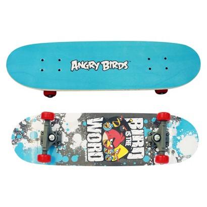 "Street Flyers Angry Birds Cruiser Skateboard - Blue (28"")"