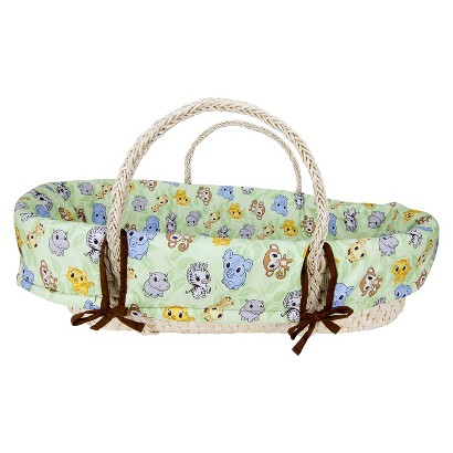 Trend Lab Moses Basket Set - Chibi Zoo/Riley Tiger