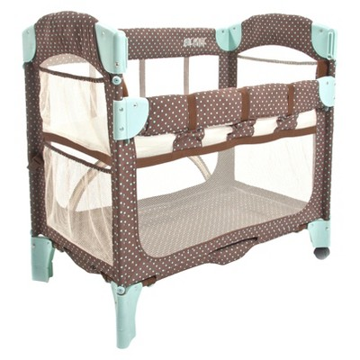 Arm's Reach Mini Arc Co-Sleeper Bassinet - Java Dot