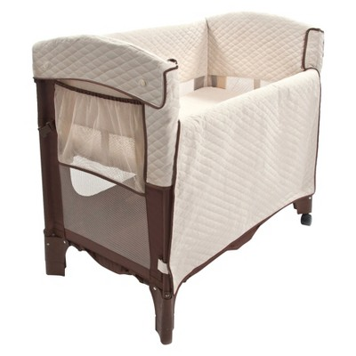 Arm's Reach Mini Arc Convertible CO-SLEEPER© Bassinet-Cocoa/Natural