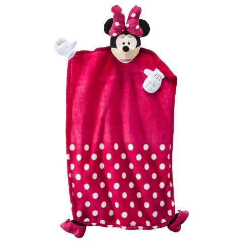 CuddleUppet™ Blanket - Minnie Mouse