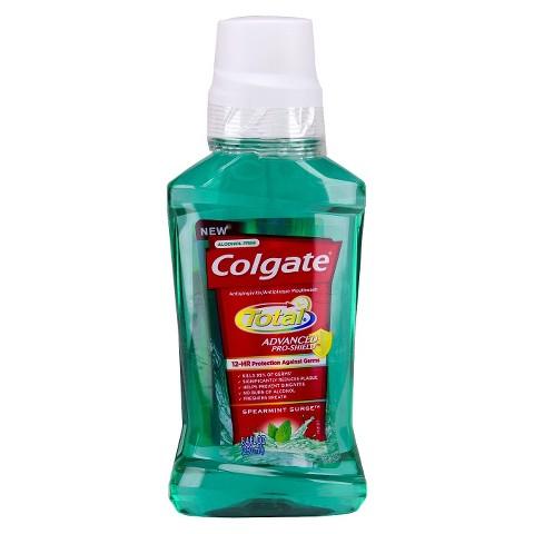 Colgate Total Advanced Pro-Shield Spearmint Surge Mouthwash 250mL