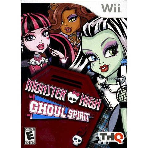 Monster High: Ghoul Spirit PRE-OWNED (Nintendo Wii)
