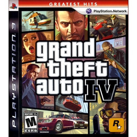 Grand Theft Auto IV PRE-OWNED (PlayStation 3)