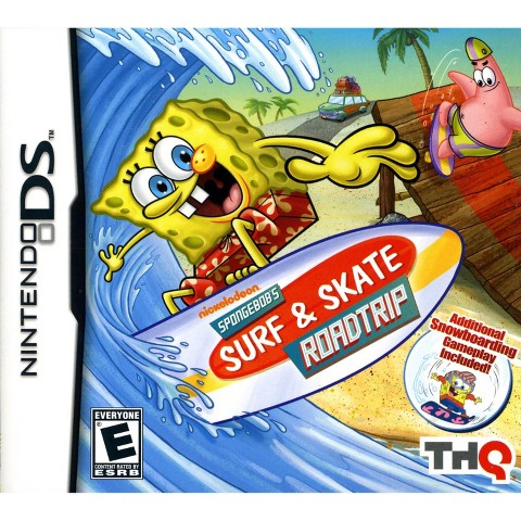 Spongebob's Surf & Skate Roadtrip PRE-OWNED (Nintendo DS)