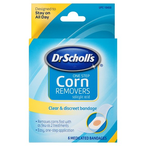 Dr. Scholl's Corn Remover Medicated Bandages - 6 count